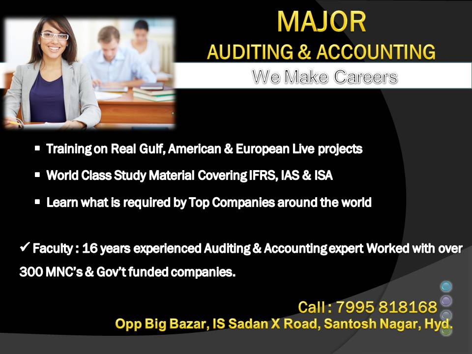 accounting major Accounting major overview the department of accounting is committed to providing students the education and technical knowledge necessary to enter the accounting profession and to pursue a successful professional career.